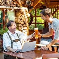 Bayerbach - Biergarten Gasthof zur Mühle